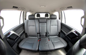 SUV leather interior
